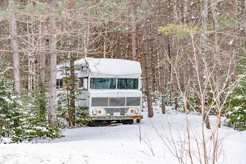 how to keep rv pipes from freezing while camping